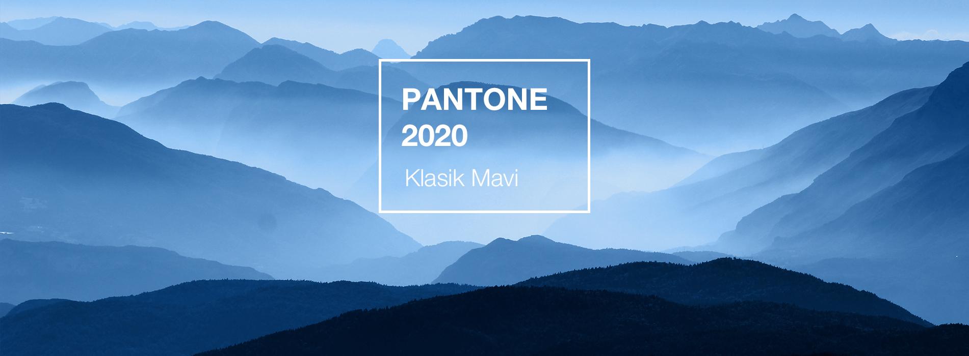 Pantone 2020 Klasik Mavi